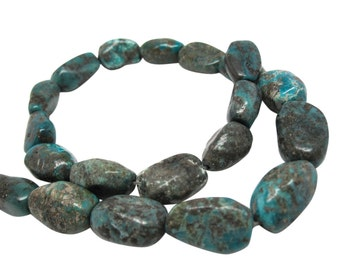 Turquoise Nugget Beads, Turquoise Beads, SKU 4273A