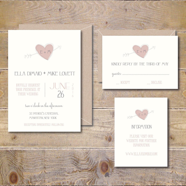 Invito di nozze fai da te inviti di nozze stampabile invito for Inviti per matrimonio