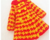 Atomic Blythe Mod Houndstooth Double Breasted Coat - Ketchup N Mustard