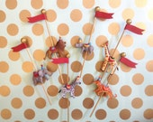 Carousel Animal Cake Toppers