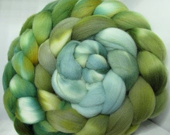 Targhee Roving Combed Top - 5oz - Lichen 2