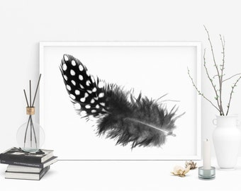 "11x14 Wall Gallery Art ""Feather"" - Digital Download"