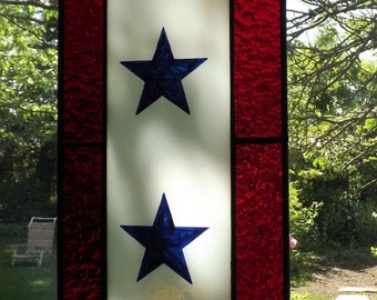 Two Star Blue Star Service Banner
