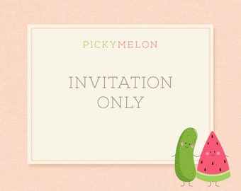 Pick and choose ONE invitation