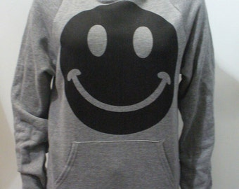LAST ONE Smiley Hoodie w/Laces