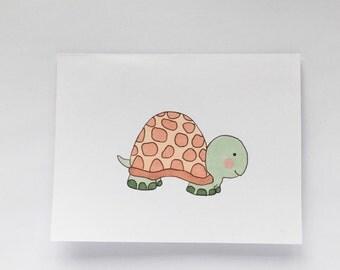 Blank Turtle Card