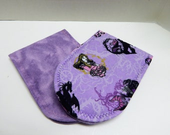 Newborn Baby Burp Cloths Disney Sleeping Beauty