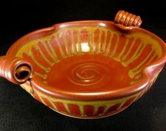 Ceramic Baker - Casserole Baking Dish - Red / Brown Baker - Ceramic Baking Dish - Deep Baking Dish - Ceramic Casserole  - Baker - InStock