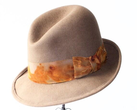 Men's Hats Fedora Hat 1930s Hats Men's Gift Men's Fedora 1920s Hat 1940s Hat Men's Felt Hat Open Crown Fedora Men's Dress Hat Custom Fedora