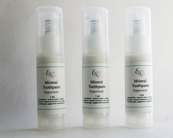 Family Pack Natural Remineralizing Toothpaste, Natural Toothpaste, Sweetened with Non GMO Birch Xylitol
