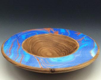 Coral and Elm - Elm Wood bowl
