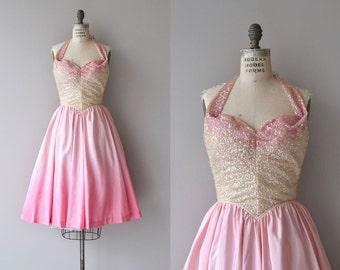 Sugar Bon Bon dress   vintage 1950s dress   sequin 50s party dress