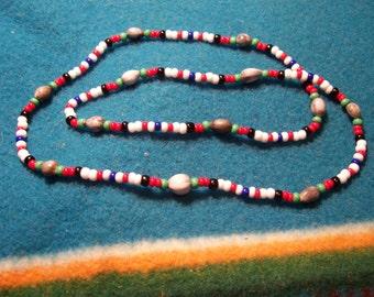 Cherokee Tear Necklace-Afghanistan Medal