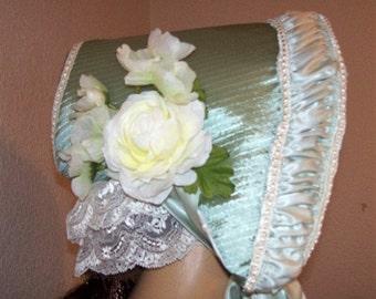 Woman's Early Victorian Bonnet