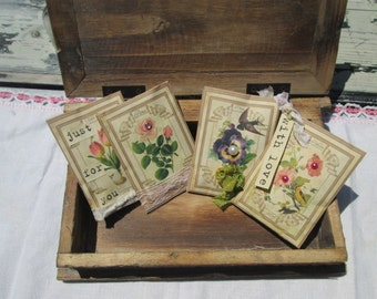 Set of 4 Lavender Sachets