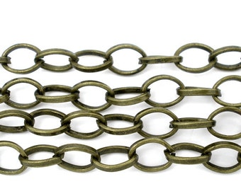BULK - Antique Brass Chain - 12 feet - #CH06144