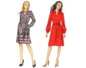 Vogue V8847 Sewing Pattern - Vogue Patterns Misses Dress Sewing Pattern - Vogue 8847