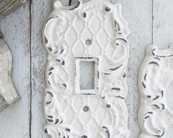 Light Switch Cover, Iron Home Decor, Cast Iron Decor, Victorian Home, Romantic Home,  Kitchen Accent, Romantic Home, Style 122