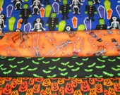 HALLOWEEN CLEARANCE #1 Fabrics, Sold INDIVIDUALLY not as a group, by the Half Yard