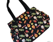 SALE- ONLY 2 LEFT! Yummies Candy & Sweets Print Side Pocket Purse