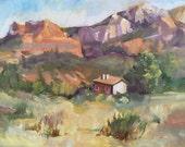 Sedona Oil Landscape Painting