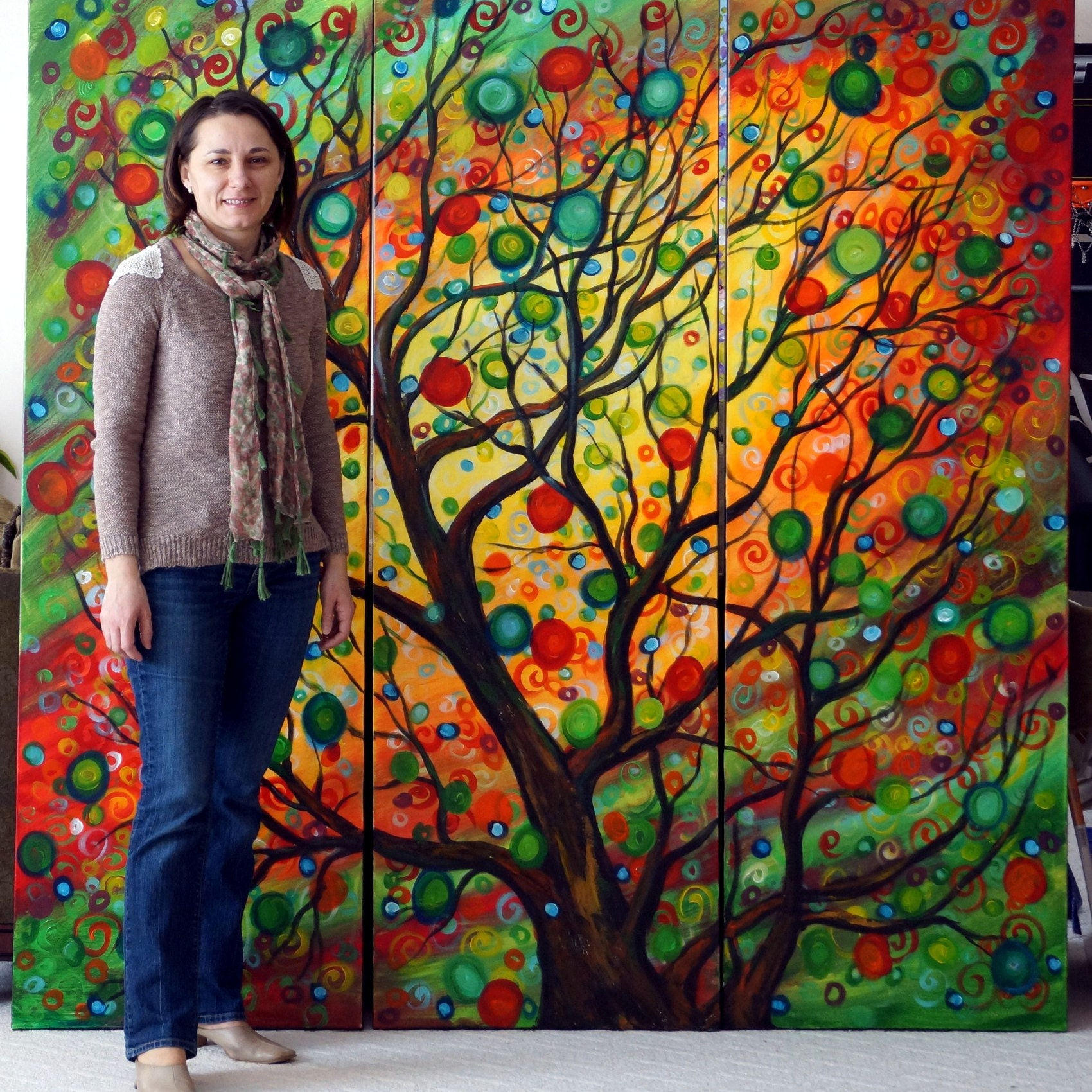 HOLIDAY Sales Original Paintings By LUIZAVIZOLI On Etsy