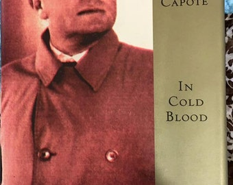 a book outline of in cold blood by truman capote