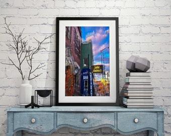 Saint Andrews Hall Detroit  Energy Series Fine Art Photograph on Metallic Paper