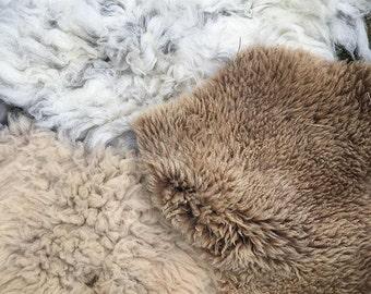 Pocket Wheel  Sheepskin Treadle cover