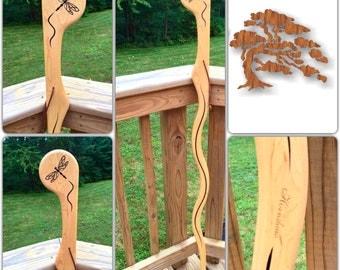 Maple - Dragonfly - Walking stick