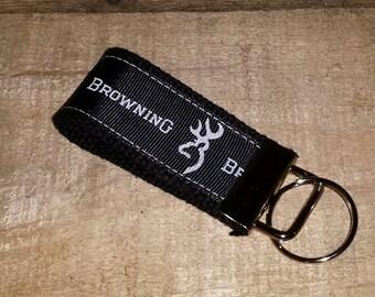 Browning  Key Fob Mini on Black