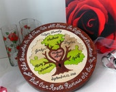 One Of A Kind Heirloom Family Tree Puzzle Custom Designed Personalized Family Tree Puzzle Family Heirloom Christmas Gifts for Mom and Dad