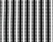 Fishbone Black Michael Miller Fabric 1 yard Modern Fabric black and white fabric