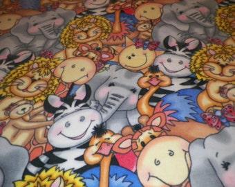 Animals Fleece Throw Blanket