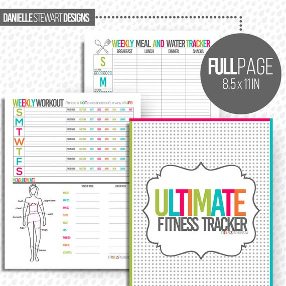 Ultimate Fitness Tracker Printables