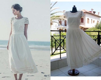 Laure de Sagazan SAND Dress Replica