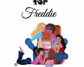 CUSTOM ART Listing for FREDDIE (1 of 2)