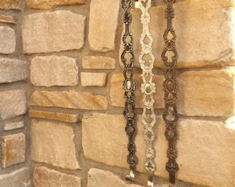 Decorative Wreath Hangers, Wreath Hooks, Accessories for Wreaths, Decorative Wreath Holder, Door Hook, Bronze Door Hook, Nickel Door Hook