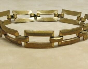 A Vintage Link Bracelet by Coro