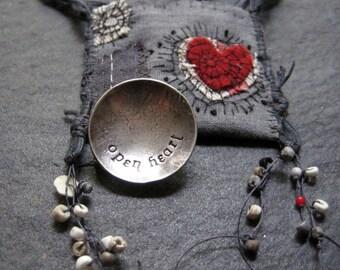 fragile strength talisman - open heart