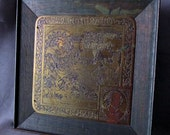 RESERVED for TOM.....c1900 Rutledge Arts & Crafts 12th Night Shakespeare Plaque