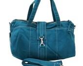 Back To School SALE - 20% OFF Diamond in Teal  / Diapers bag / Tote / Hobo / Shoulder Bag / Purses / Handbags / Women / For her