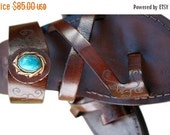 20% OFF Dark Brown Decor Bath Leather Sandals for Men & Women