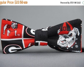 Georgia Bulldogs  Bow Tie
