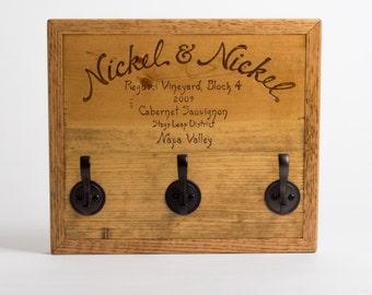 Nickel & Nickel Wine Crate Keyhook