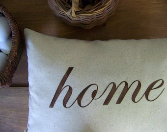 free shipping / home pillow / espresso / home decor / housewarming gift / housewarming / cushion / jennifer helene home
