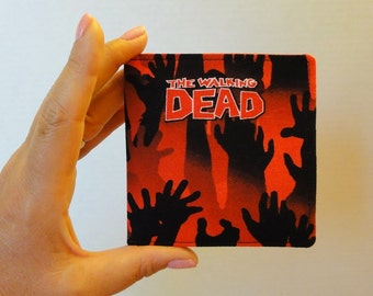 Red and Black Walking Dead Zombie Wallet