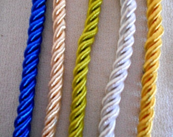 Soft Rope 5 colors to choose from tassel rope weddings 4th July Graduation Prom Quinceaneras