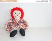 SALE // Vintage Raggedy Ann Doll