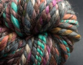Elegant Fall, CHunky Yarn, HandSpun Yarn, 45 yards